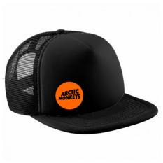 Topi Snapback Jaring Artic Monkey Orange Black Premium Original
