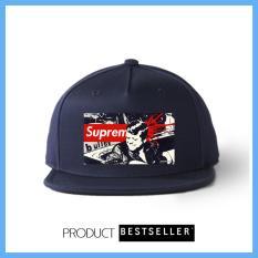 Promo Topi Snapback Spr Usa 020 Nevy Premium