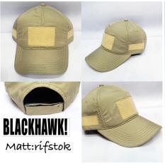 Topi Tactical Blakhawk Cream Asli