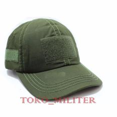 Jual Topi Tactical Velcro Hijau Branded