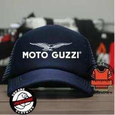 Jual Beli Topi Trucker Custom Moto Guzzi Navy Jawa Barat