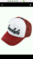 TOPI TRUCKER GREENLIGHT MERAH PUTIH G4