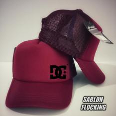 TOPI TRUCKER JARING LOGO DC NEW  - MEY MEY CLOTHING