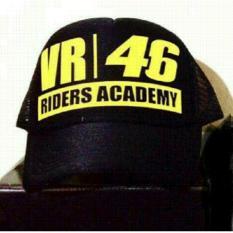 Topi Trucker VR46 Riders Academy [Hitam]