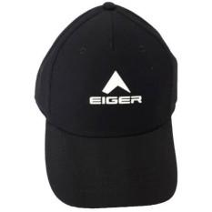 TOPI TRUCKER(JARING-JARING) EIGER-HITAM