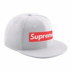 Beli Topi55 Snapback Supreme Premium Putih Cicil
