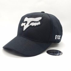 Topi55 - Topi Baseball Golf FOX - Hitam