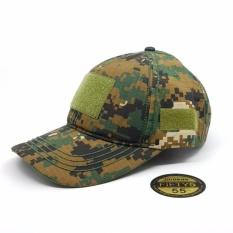Topi55 - Topi Tactical Velcro - Desert Hijau