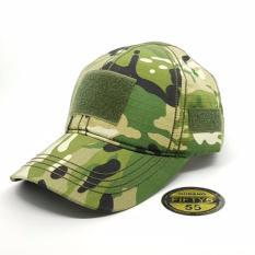 Topi55 - Topi Tactical Velcro - Hijau Army