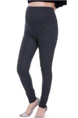 Review Gugur Musim Dingin Kapas Yang Dapat Peringkat Teratas Elastisitas Tinggi Kelabu Legging Hamil Celana Hamil Pakaian Untuk Wanita China Abu Abu