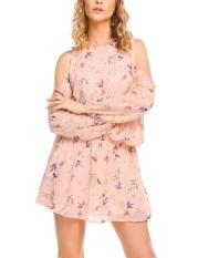 toprank-finejo-women-cold-shoulder-lantern-sleeve-floral-print-casual-beach-chiffon-dress-pink-intl-4552-48160838-ba320d5f42d2af12f83ce4b020431483-catalog_233 Kumpulan Daftar Harga Gaun Muslim Kombinasi Brokat Dan Sifon Terbaik saat ini