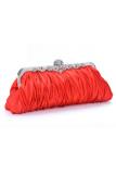 Diskon Besartoprank Messenger Purse Clutch Handbag Evening Pernikahan Wanita Tas Pesta Rantai Bahu Casing Elegan Kecil Fashion Merah