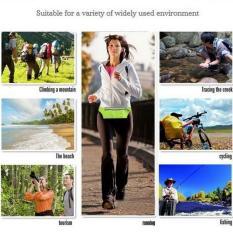 Diskon Toprank Unisex Tahan Air Menjalankan Sabuk F*Nny Pack Pinggang Pouch Outdoor Sport Camping Hiking Zip Bag Green Intl Tiongkok
