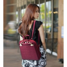 Toko Toprate Backpack Women 2017 Oxford Embossed Fashion Black Brand Back Pack Sch**l Bag For Teenagers Girls Bagpack Purple Intl Oem Online