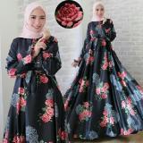 Toko Toserbu Gamis Maxi Busui Jumbo Xl Fit Xxl Zamida Black Maxmara Impor Di Indonesia