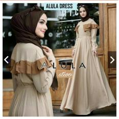 Rp 109.300 TotallyGreatShop Busana Muslim Wanita - Fashion Muslim Balotelly - Baju Kondangan Muslimah - Gamis Pesta ...
