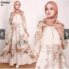 Rp 149.750 TotallyGreatShop Gamis Syari Pesta Busui seleting depan - bumil - Jumbo - Cantik - Baju Kondangan Muslimah ...