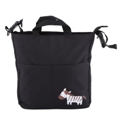Tote Shoulder Infant Large Capacity Hanging Bag (Black Zebra) - intl