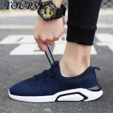 Harga Toursh Menjalankan Sepatu Pria Outdoor Bernapas Sneakers Sport Athletic Walking Pelatih Sepatu Olahraga Intl Branded