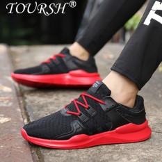 Beli Toursh Pria Kasual Sepatu Pria Sepatu Sneakers Berlari Sepatu Olahraga Shoes Intl Dengan Kartu Kredit