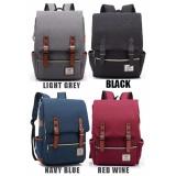 Promo Tr3 Tas Ransel Backpack Laptop Ipad Punggung Lightgrey Indonesia