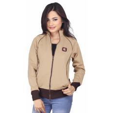 Jual Track Jaket Sweater Wanita Raindoz Ryi 015 Coklat Diadora Murah Jawa Barat