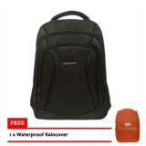 Diskon Besarpolo Design Tas Ransel 18 Inchi 78316 Laptop 14 Inchi Bonus Bag Cover Coklat Tuatua