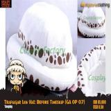 Jual Beli Online Trafalgar Law Hat Topi Anime One Piece Ga Op 07