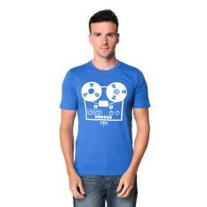 Harga Trafix Kaos Distro Pria T Shirt Tumblr Tee Cowok Clasic Disk Biru Asli