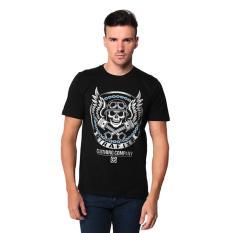 Harga Trafix Kaos Distro Pria T Shirt Tumblr Tee Cowok Skull Hitam Terbaik