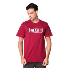 Spesifikasi Trafix Kaos Distro Pria T Shirt Tumblr Tee Cowok Smart Maroon Yang Bagus