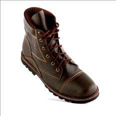Harga Hemat Tragen Footwear Heroic Cokelat