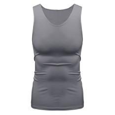 Spesifikasi Pelatihan Oto Menstruasi Kompresi Di Bawah Lapisan Dasar Termal Berjalan Gym Ketat Atasan Kemeja T Shirt Abu Abu Internasional Dan Harga