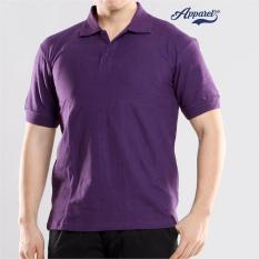Transparent Basic Polo Shirt (Violet)