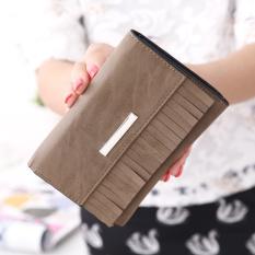 Spek Traresey Korea Fashion Style Besar Rumbai Clutch Tas Baru Wanita Dompet Unta Tiongkok