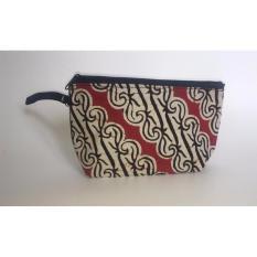 Travel Pouch / Make Up Pouch Multifungsi Batik 04