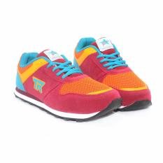 Trekkers JB-Bellagio 2 Sepatu Olahraga Laki-laki Warna Merah bata/Oranye