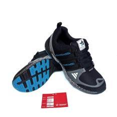 Spesifikasi Trekkers Sepatu Sport Pria Venturer Black Blue 39 43 Merk Trekkers