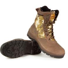 Trekking Adventure TMS 097 Sepatu Fashion Pria-Coklat Loreng Kulit Full Up Promo