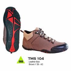 Beli Trekking Sepatu Boot Adventure Sepatu Gunung Sepatu Hiking Sepatu Biker Bahan Leather Buk Tms 104 Di Jawa Barat