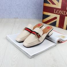 Harga Sepatu Sandal Tren Mutiara Sepatu Slip On Modis Perempuan Beige C2133 1 Sepatu Wanita Sandal Wanita Online