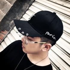 Harga Tren Laki Laki Korea Fashion Style Topi Topi Topi Sanhuan Gesper Menara Hitam Yang Bagus