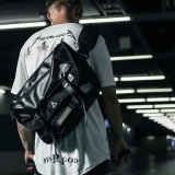 Harga Trendi Tas Fashion Siswa Sekolah Menengah Tas Tas Messenger Kulit Hitam Online Tiongkok