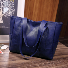 Dimana Beli Korea Fashion Style Baru Tas Selempang Tas Biru Tua Warna Untuk Mengirim Tas Tangan Oem