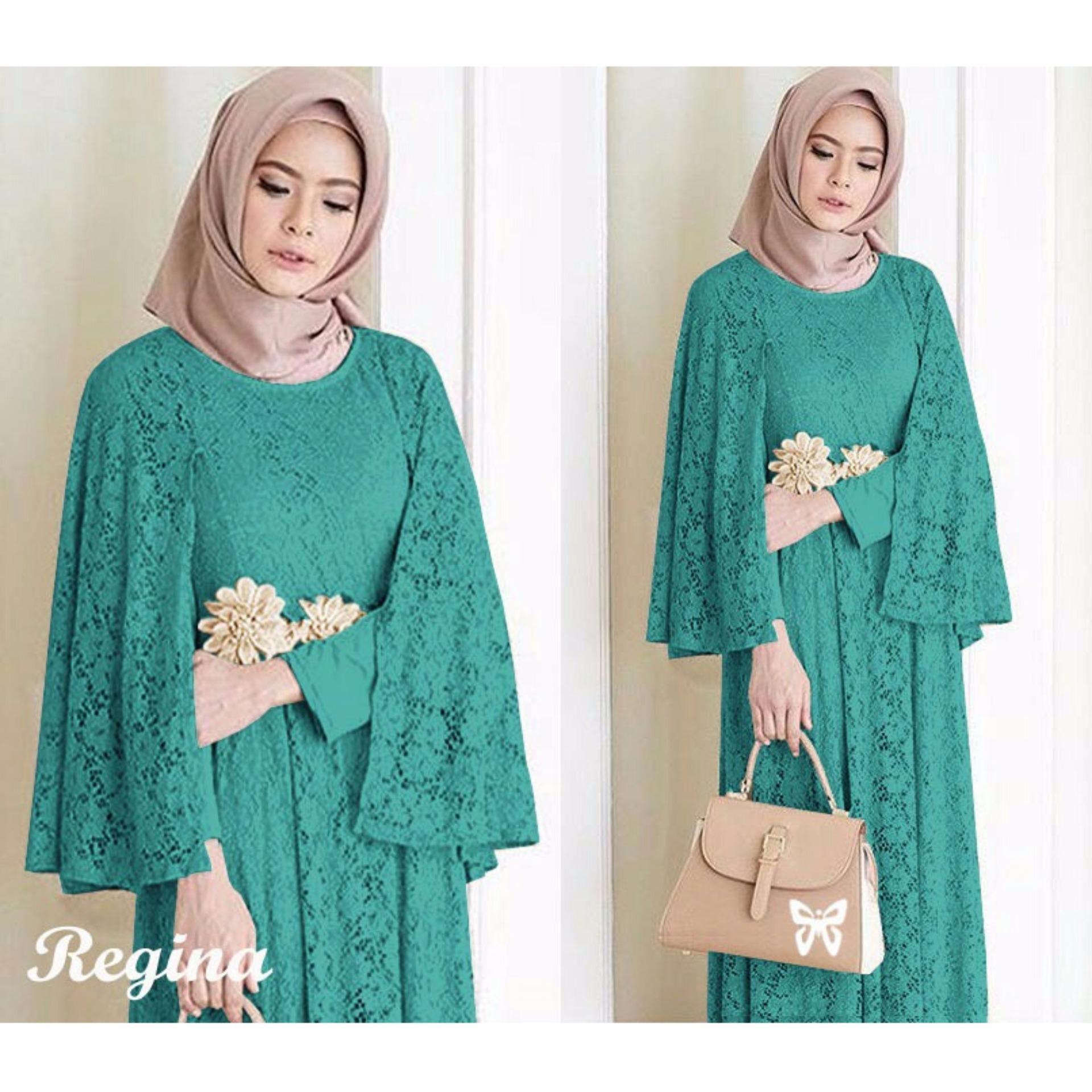 Baju muslim   Jumpsuit - Dress wanita - Gamis pesta - Baju gamis - Gamis  wanita c97f03509d