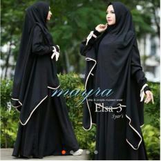 Gamis pesta - Baju gamis - Gamis wanita - Baju muslim wanita terbaru busui - maxi variasi pita