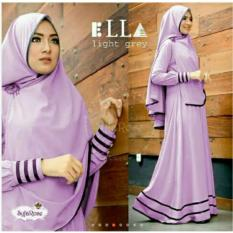 Gamis pesta - Baju gamis - Gamis wanita - Baju muslim wanita terbaru busui variasi lis XL