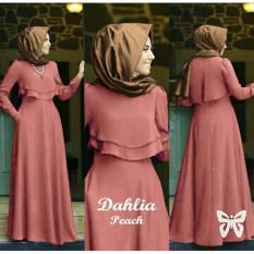 Gamis pesta - Baju gamis - Gamis wanita - Baju muslim wanita terbaru promo - maxi puls luaran