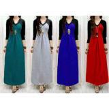 Toko Trend Baju Kimono Spandek Uk L Merah Lengkap