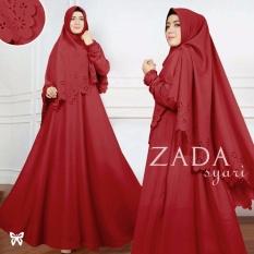 Gamis pesta - Baju gamis - Gamis wanita - Baju muslim wanita terbaru - Maxi Baloteli Uk L - Merah